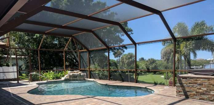 a recipe for re painting a pool enclosure properly