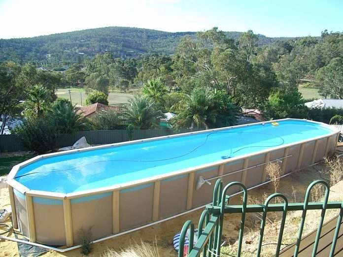 above ground pool super store lap pools backyard best
