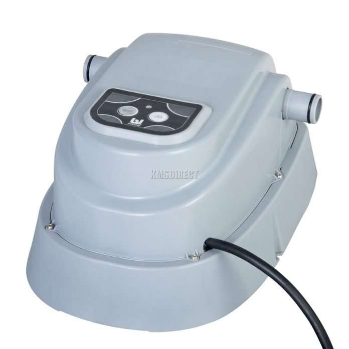 bestway electric swimming pool heater up to 15ft 2 8kw for