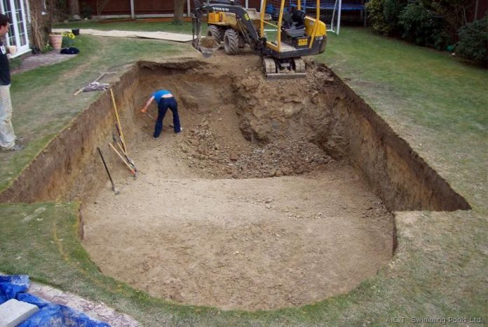 how to build a natural swimming pool step by step