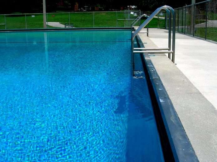 how to clean your pool deck everything else around it