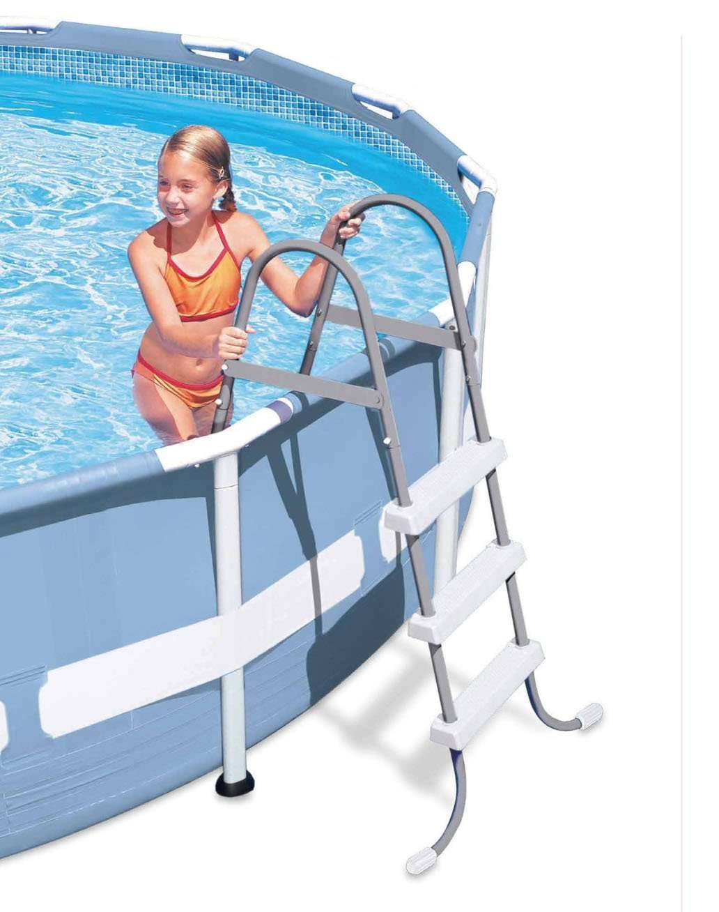 Intex Above Ground Pool Ladder for 42 Inch Wall Height ...