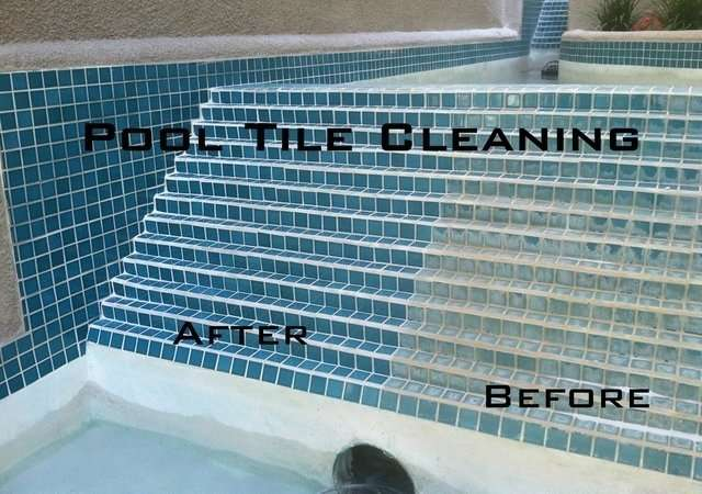 Pool Tile Cleaning â Project Details